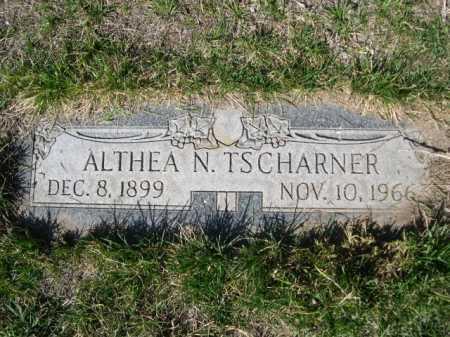 TSCHARNER, ALTHEA N. - Dawes County, Nebraska | ALTHEA N. TSCHARNER - Nebraska Gravestone Photos