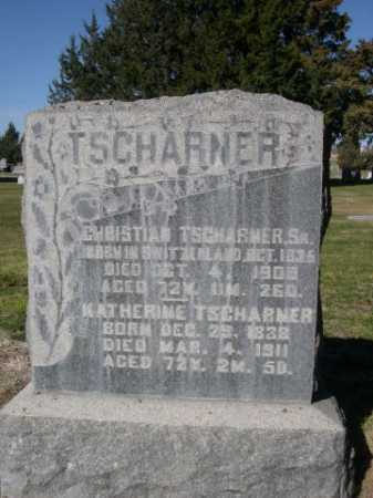 TSCHARNER, KATHERINE - Dawes County, Nebraska | KATHERINE TSCHARNER - Nebraska Gravestone Photos