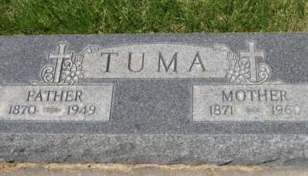 TUMA, MOTHER - Dawes County, Nebraska | MOTHER TUMA - Nebraska Gravestone Photos