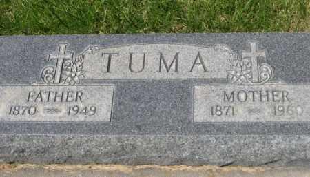 TUMA, FATHER - Dawes County, Nebraska | FATHER TUMA - Nebraska Gravestone Photos