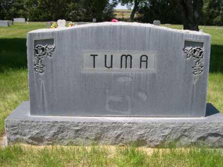 TUMA, FAMILY - Dawes County, Nebraska | FAMILY TUMA - Nebraska Gravestone Photos