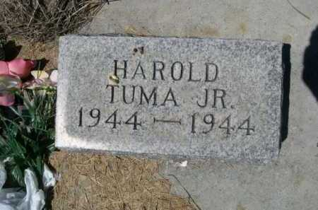 TUMA, HAROLD JR. - Dawes County, Nebraska | HAROLD JR. TUMA - Nebraska Gravestone Photos