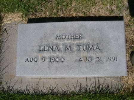 TUMA, LENA M. - Dawes County, Nebraska   LENA M. TUMA - Nebraska Gravestone Photos