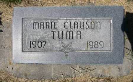 CLAUSON TUMA, MARIE - Dawes County, Nebraska   MARIE CLAUSON TUMA - Nebraska Gravestone Photos