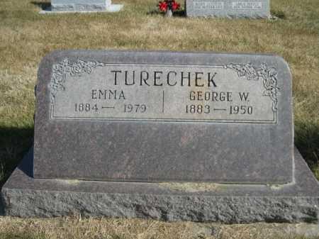 TURECHEK, EMMA - Dawes County, Nebraska | EMMA TURECHEK - Nebraska Gravestone Photos