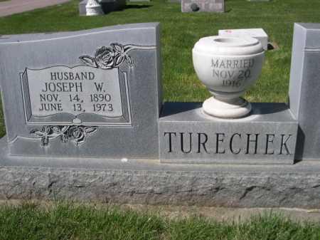 TURECHEK, JOSEPH W. - Dawes County, Nebraska | JOSEPH W. TURECHEK - Nebraska Gravestone Photos