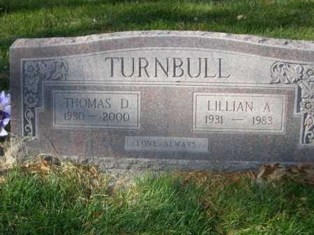 TURNBULL, LILLIAN A. - Dawes County, Nebraska | LILLIAN A. TURNBULL - Nebraska Gravestone Photos