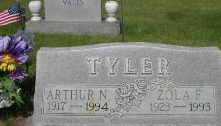TYLER, ARTHUR N. - Dawes County, Nebraska | ARTHUR N. TYLER - Nebraska Gravestone Photos