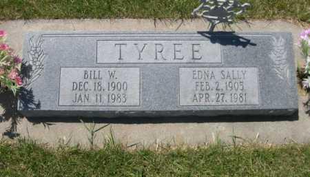 TYREE, EDNA SALLY - Dawes County, Nebraska   EDNA SALLY TYREE - Nebraska Gravestone Photos