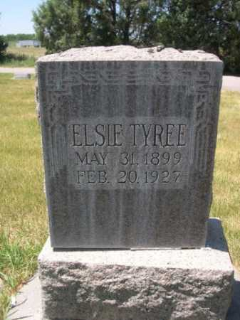 TYREE, ELSIE - Dawes County, Nebraska | ELSIE TYREE - Nebraska Gravestone Photos