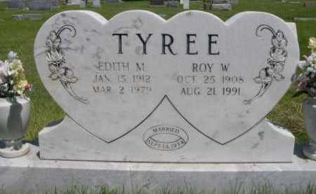 TYREE, ROW W. - Dawes County, Nebraska | ROW W. TYREE - Nebraska Gravestone Photos