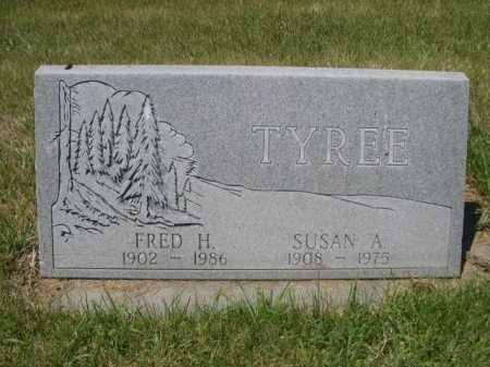 TYREE, FRED H. - Dawes County, Nebraska | FRED H. TYREE - Nebraska Gravestone Photos
