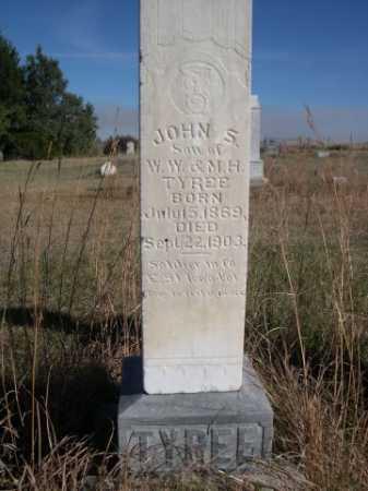 TYREE, JOHN S. - Dawes County, Nebraska   JOHN S. TYREE - Nebraska Gravestone Photos