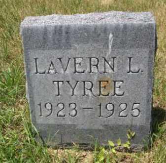 TYREE, LAVERN L. - Dawes County, Nebraska | LAVERN L. TYREE - Nebraska Gravestone Photos