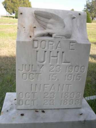 UHL, INFANT. - Dawes County, Nebraska | INFANT. UHL - Nebraska Gravestone Photos