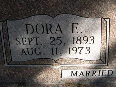 UHL, DORA E. - Dawes County, Nebraska | DORA E. UHL - Nebraska Gravestone Photos