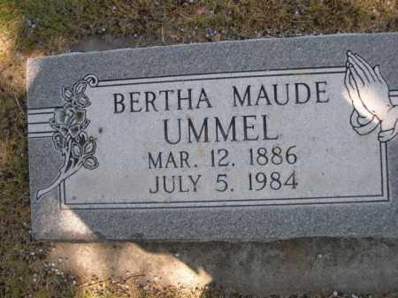 UMMEL, BERTHA MAUDE - Dawes County, Nebraska | BERTHA MAUDE UMMEL - Nebraska Gravestone Photos