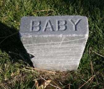 UNKNOWN, BABY - Dawes County, Nebraska | BABY UNKNOWN - Nebraska Gravestone Photos