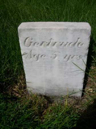 UNKNOWN, GERTRUDE - Dawes County, Nebraska | GERTRUDE UNKNOWN - Nebraska Gravestone Photos