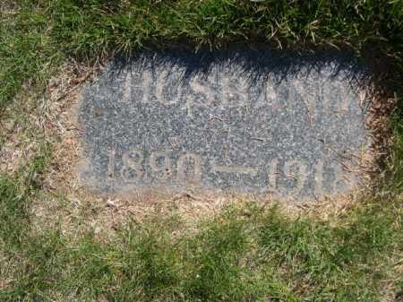 UNKNOWN, HUSBAND - Dawes County, Nebraska | HUSBAND UNKNOWN - Nebraska Gravestone Photos