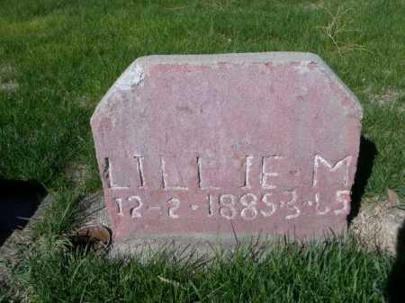 UNKNOWN, LILLIE M. - Dawes County, Nebraska | LILLIE M. UNKNOWN - Nebraska Gravestone Photos
