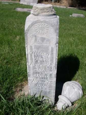 JONES, MARY - Dawes County, Nebraska | MARY JONES - Nebraska Gravestone Photos