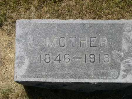 UNKNOWN (MAYBE HALLSEAD), MOTHER - Dawes County, Nebraska | MOTHER UNKNOWN (MAYBE HALLSEAD) - Nebraska Gravestone Photos