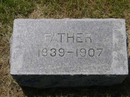 UNKNOWN (MAYBE HALLSTEAD), FATHER - Dawes County, Nebraska   FATHER UNKNOWN (MAYBE HALLSTEAD) - Nebraska Gravestone Photos