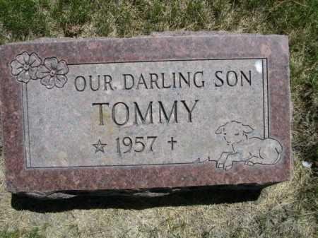 UNKNOWN, TOMMY - Dawes County, Nebraska | TOMMY UNKNOWN - Nebraska Gravestone Photos