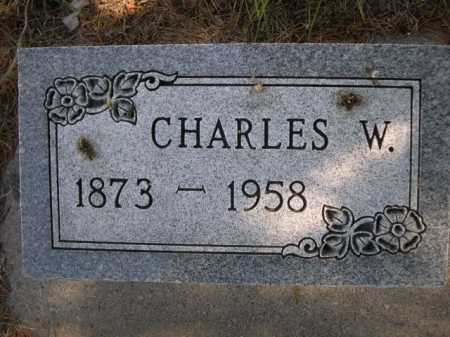 UNRECORDED, CHARLES W. - Dawes County, Nebraska | CHARLES W. UNRECORDED - Nebraska Gravestone Photos