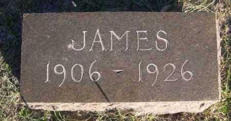UNRECORDED, JAMES - Dawes County, Nebraska | JAMES UNRECORDED - Nebraska Gravestone Photos
