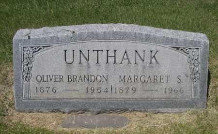 UNTHANK, OLIVER BRANDON - Dawes County, Nebraska | OLIVER BRANDON UNTHANK - Nebraska Gravestone Photos