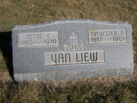 VAN LIEW, NETTIE E. - Dawes County, Nebraska | NETTIE E. VAN LIEW - Nebraska Gravestone Photos