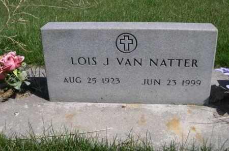 VAN NATTER, LOS J. - Dawes County, Nebraska | LOS J. VAN NATTER - Nebraska Gravestone Photos
