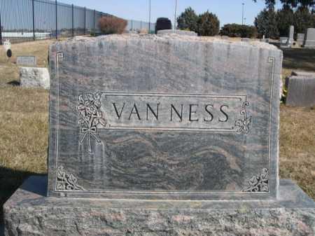 VAN NESS, FAMILY - Dawes County, Nebraska   FAMILY VAN NESS - Nebraska Gravestone Photos