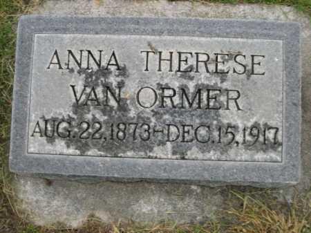 VAN ORMER, ANNA THERESE - Dawes County, Nebraska | ANNA THERESE VAN ORMER - Nebraska Gravestone Photos
