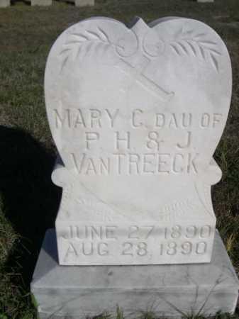 VAN TREECK, MARY C. - Dawes County, Nebraska | MARY C. VAN TREECK - Nebraska Gravestone Photos
