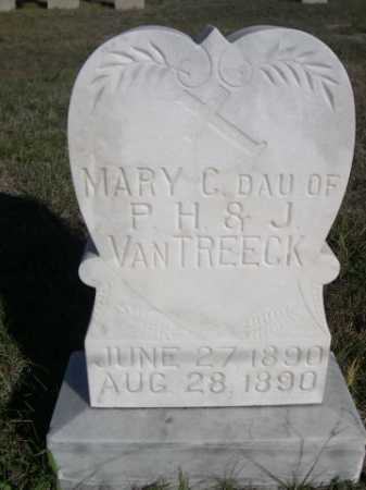 VAN TREECK, MARY C. - Dawes County, Nebraska | MARY C. VAN TREECK - Nebraska Gravestone Photos