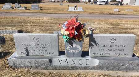VANCE, ORLAND R. - Dawes County, Nebraska | ORLAND R. VANCE - Nebraska Gravestone Photos