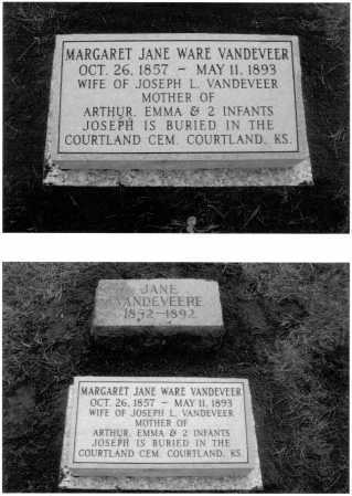 VANDEVEER, MARGARET JANE - Dawes County, Nebraska | MARGARET JANE VANDEVEER - Nebraska Gravestone Photos