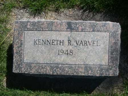 VARVEL, KENNETH R. - Dawes County, Nebraska | KENNETH R. VARVEL - Nebraska Gravestone Photos