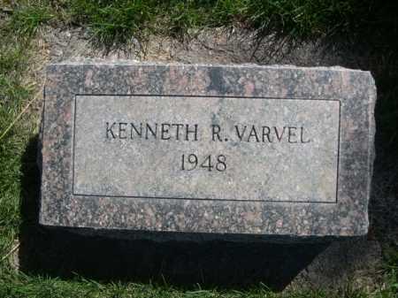 VARVEL, KENNETH R. - Dawes County, Nebraska   KENNETH R. VARVEL - Nebraska Gravestone Photos
