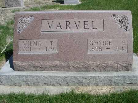 VARVEL, WILMA T. - Dawes County, Nebraska   WILMA T. VARVEL - Nebraska Gravestone Photos