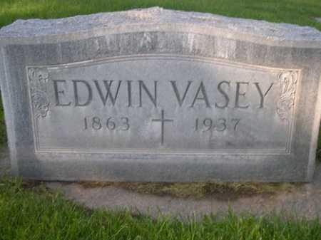 VASEY, EDWIN - Dawes County, Nebraska | EDWIN VASEY - Nebraska Gravestone Photos