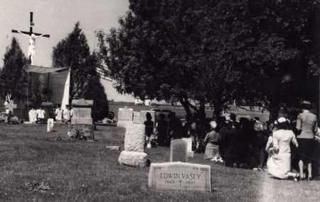 *CALVARY CEMETERY, VIEW OF - Dawes County, Nebraska   VIEW OF *CALVARY CEMETERY - Nebraska Gravestone Photos
