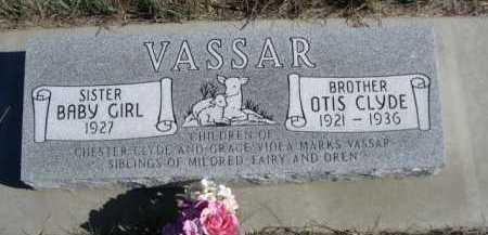 VASSAR, OTIS CLYDE - Dawes County, Nebraska | OTIS CLYDE VASSAR - Nebraska Gravestone Photos