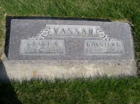 VASSAR, GRACE V.. - Dawes County, Nebraska   GRACE V.. VASSAR - Nebraska Gravestone Photos
