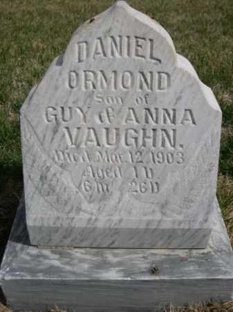 VAUGHN, DANIEL ORMOND - Dawes County, Nebraska | DANIEL ORMOND VAUGHN - Nebraska Gravestone Photos