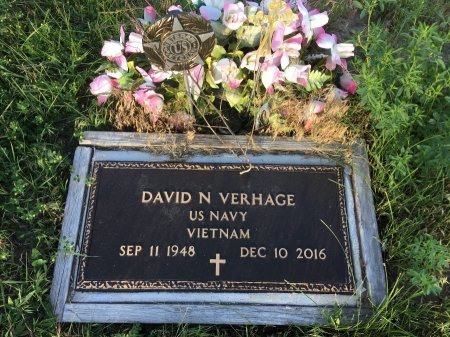 VERHAGE, DAVID N - Dawes County, Nebraska | DAVID N VERHAGE - Nebraska Gravestone Photos