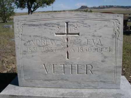 VETTER, EVA - Dawes County, Nebraska   EVA VETTER - Nebraska Gravestone Photos